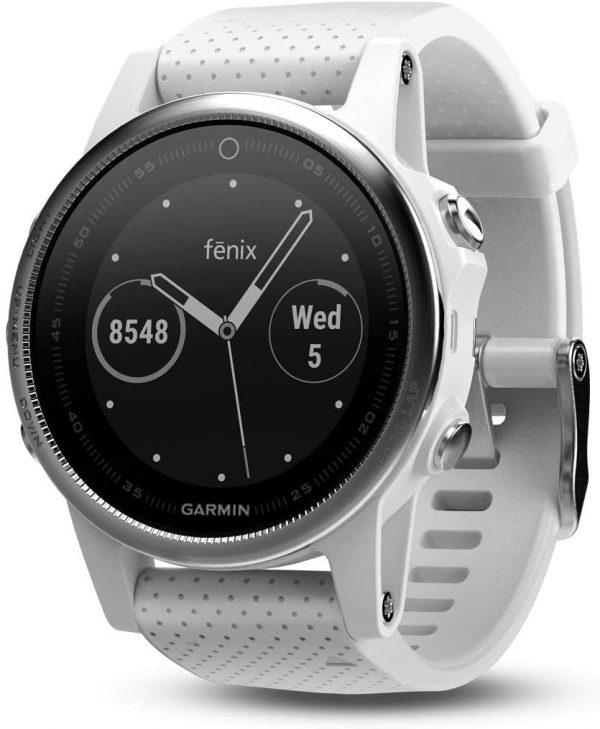 Garmin Fēnix 5S - Grise et bracelet gris