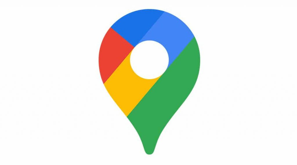 Application GPS smartphone Google Maps