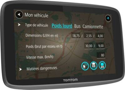 GPS Tomtom GO Professionnel 520