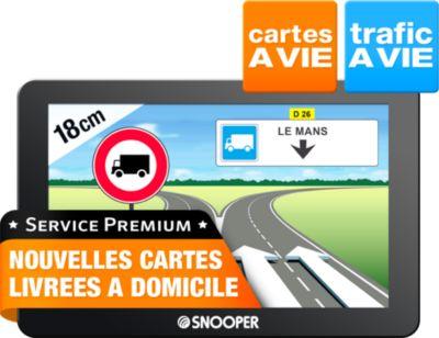 GPS Snooper Truckmate PL6600 7pouces
