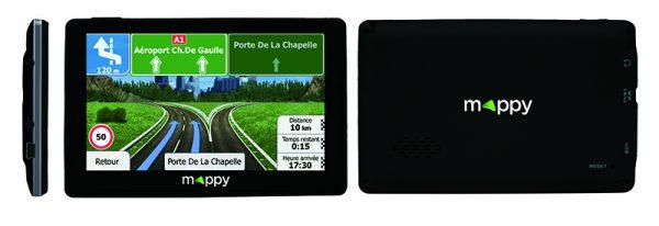 GPS MAPPY E538T 5 14 pays CAV extra slim
