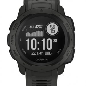 Montre connectee - GARMIN - Instinct graphite