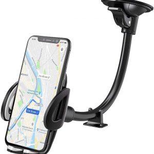 IZUKU Support GPS Telephone Voiture Ventouse